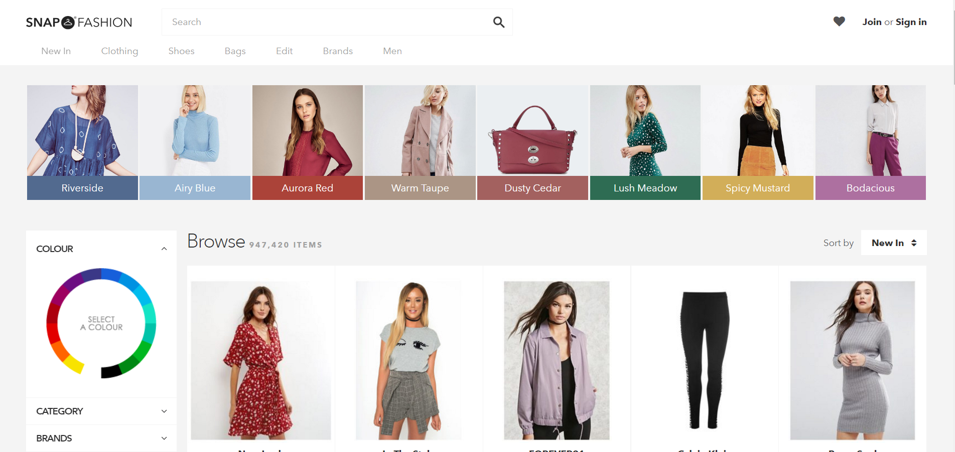 Browse - Snap Fashion - Shop Fashion in a Snap
