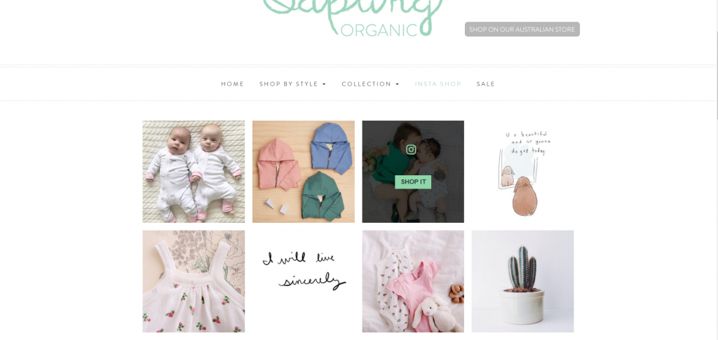 Shop Sapling Instagram Sapling Child
