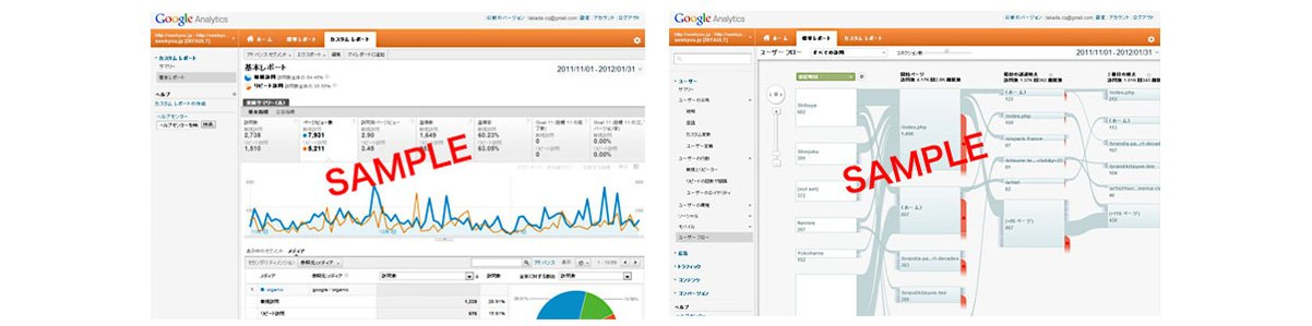 "WEB解析ツール ""Google Analytics"" eコマースに対応"