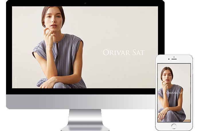 事例・実績紹介 ヤマトドレス/ORIVAR SAT